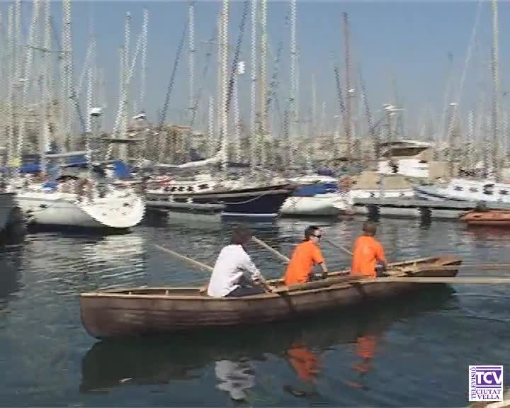Primera regata de Currach